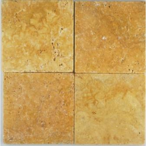 Travertine tile for less utah for Best grout color for travertine tile