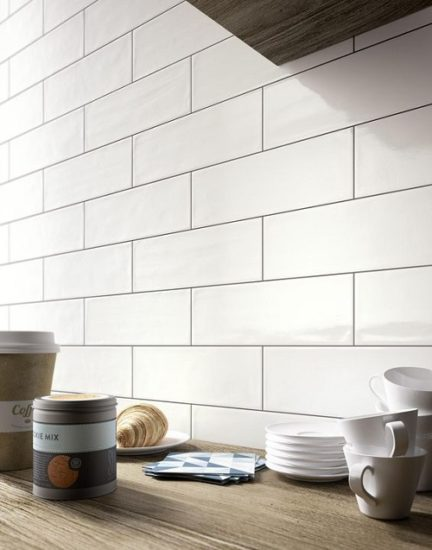 Mul 4 Quot X16 Quot Subway Glossy White Tile For Less Utah