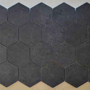 Hexagon 3 5 Mosaic Black